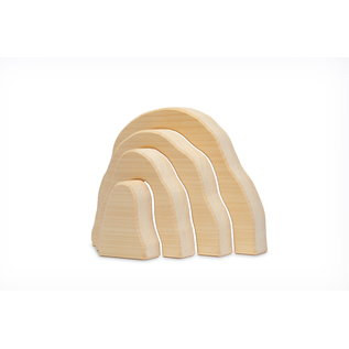 Natural Cave  Wooden Toy by Ocamora