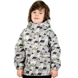 Jan & Jul by Twinklebelle Bear Print Fleece Lined Rain Jacket by Jan & Jul