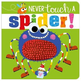 Make Believe Ideas Never Touch a Spider Board Book