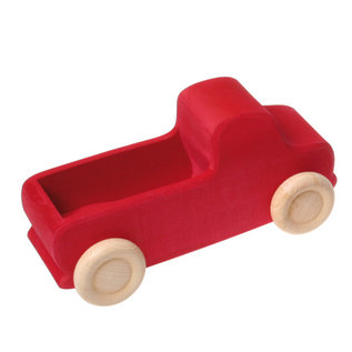 Grimms Red Wooden Large Truck by Grimms