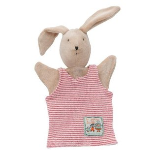 Moulin Roty Sylvain Rabbit Hand Puppet by Moulin Roty