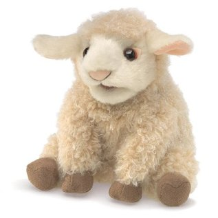 Folkmanis Puppets Small Lamb Hand Puppet