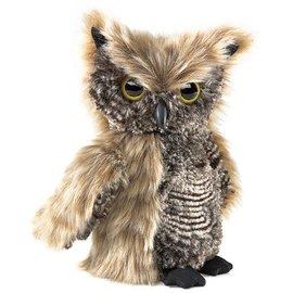 Folkmanis Puppets Screech Owl Hand Puppet