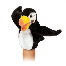 Folkmanis Puppets Little Puffin Hand Puppet