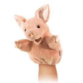 Folkmanis Puppets Little Pig Hand Puppet