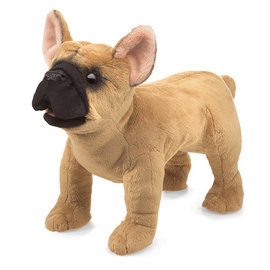 Folkmanis Puppets French Bulldog Hand Puppet