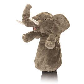Folkmanis Puppets Elephant Hand Puppet