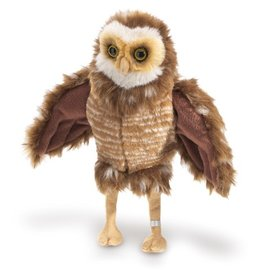 Folkmanis Puppets Burrowing Owl Hand Puppet