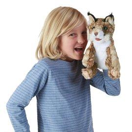 Folkmanis Puppets Bobcat Kitten Hand Puppet