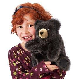 Folkmanis Puppets Baby Black Bear Hand Puppet