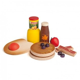 Erzi Wooden American Breakfast Play Set