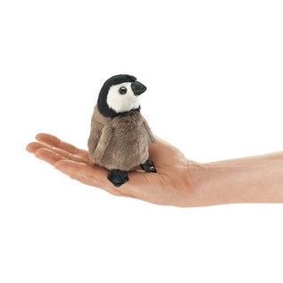 Folkmanis Puppets Mini Emperor Penguin Finger Puppet by Folkmanis