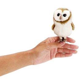 Folkmanis Puppets Mini Barn Owl Finger Puppet by Folkmanis