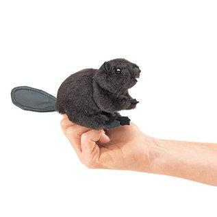 Folkmanis Puppets Mini Beaver Finger Puppet by Folkmanis