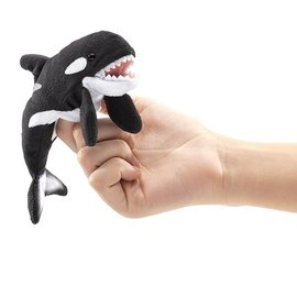 Folkmanis Puppets Mini Orca Finger Puppet by Folkmanis