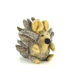 Papoose Wool Felt Hedgehog Figure