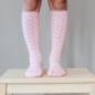 Lamington Wish Print Merino Wool Knee High Socks