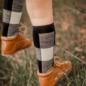 Lamington Jumbo Print Merino Wool Knee High Socks