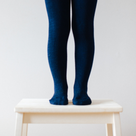Lamington Navy Merino Wool Tights by Lamington