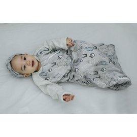 Nest Designs Deep Woods Print Raglan Bamboo Long Sleeve 2.5 Tog Cozy Sleep Bag by Nest Designs