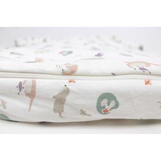 Nest Designs Playful Otter Print Bamboo Winter 3.5 Tog Cozy Sleep Bag by Nest Designs