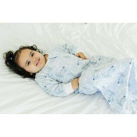 Nest Designs Orca Blue Print 1 Tog Long Sleeve Sleep Bag by Nest Designs