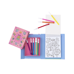 Schylling Fairy Friends Hidden Pattern Colouring Set
