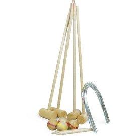 Vilac Vintage Style Wooden Croquet Set by Vilac