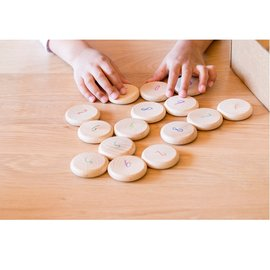 Grapat Wooden Coins to Count by Grapat