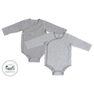 Nest Designs Baby Basics Organic Cotton Onesie 2-Pack