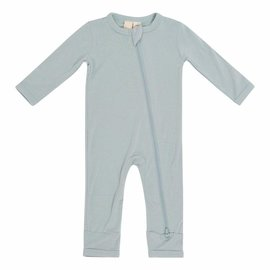 Kyte Baby Sage Colour Zippered Bamboo Romper by Kyte Baby
