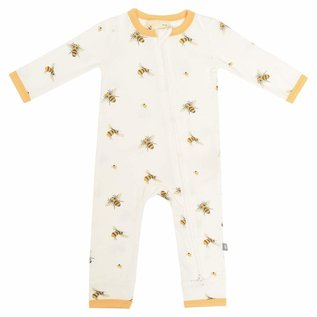 Kyte Baby Buzz Print Zippered Bamboo Romper by Kyte Baby