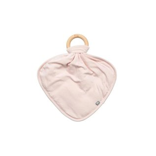 Kyte Baby Bamboo Lovey with Removable Wooden Teething Ring by Kyte Baby