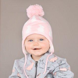 Jan & Jul by Twinklebelle Bunny Sisters Print Winter Hat by Jan & Jul