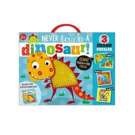 Make Believe Ideas Never Touch a Dinosaur Puzzle Set