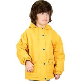 Jan & Jul by Twinklebelle Yellow Fleece Lined Rain Jacket by Jan & Jul