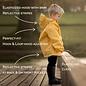 Jan & Jul by Twinklebelle Heather Grey Fleece Lined Rain Jacket by Jan & Jul