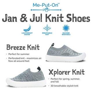 Jan & Jul by Twinklebelle Seafoam Xplorer Knit Shoe by Jan & Jul