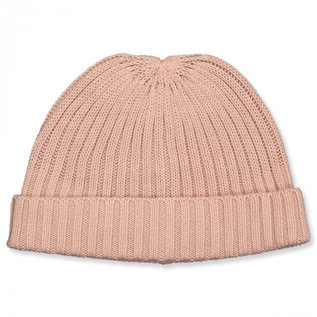 WHEAT KIDS Wool/Cotton Rose Powder Melange Bobba Beanie  Hat by Wheat