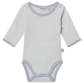 WHEAT KIDS Dusty Dove Colour Merino Wool Body Suit by Wheat Kids
