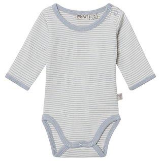 WHEAT KIDS Dusty Dove Colour Merino Wool Body Suit by Wheat Kids