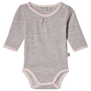 WHEAT KIDS Peony Grey Colour Merino Wool Body Suit by Wheat Kids