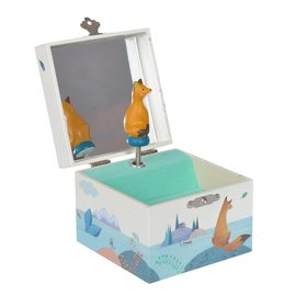 Moulin Roty Voyage D'Olga  - Fox Musical Jewellery Box
