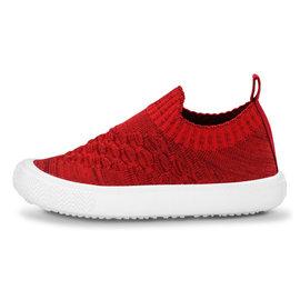 Jan & Jul by Twinklebelle Red Xplorer Knit Shoe by Jan & Jul