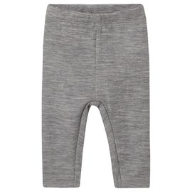 WHEAT KIDS Melange Grey Merino Wool Legging by Wheat