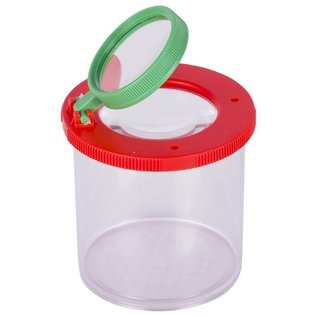 Goki Jar with Magnifying Glass