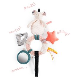 Moulin Roty Mouse Rattle & Activity Toy by Moulin Roty