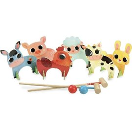 Vilac Farm Animals Croquet by Vilac