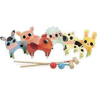 Vilac Farm Animals Croquet by Vilac