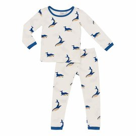 Kyte Baby Whale Print Bamboo PJs by Kyte
